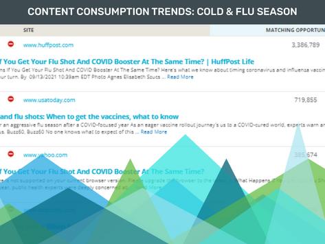 Content Consumption Trends: Cold & Flu Season