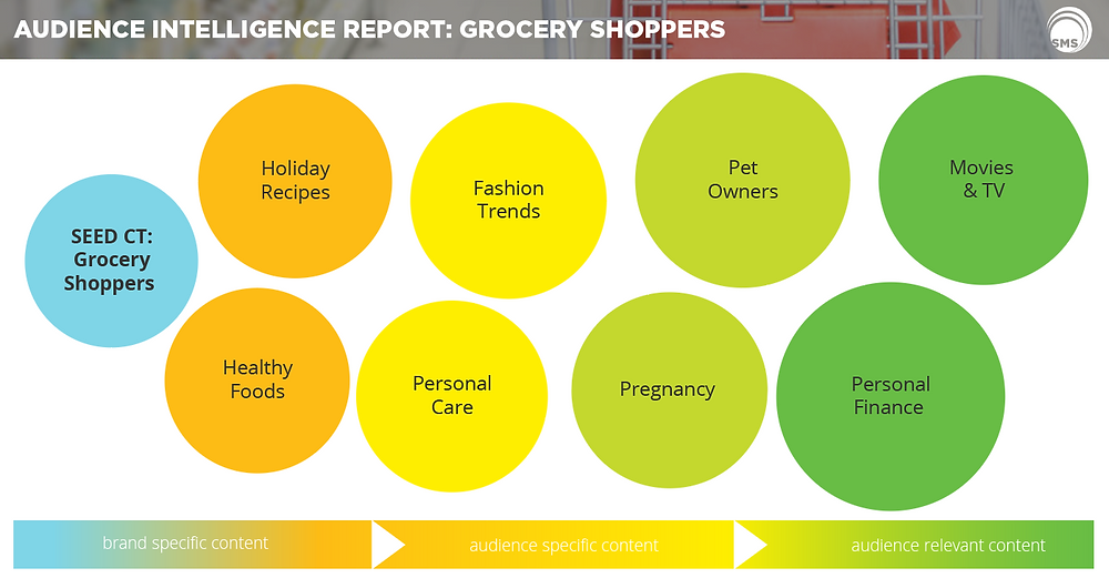 Grocery Shoppers Audience Intelligence Report Spectrum Media Services Cookieless Targeting Online Advertising