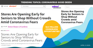 Trending Topics: Coronavirus Good Deeds