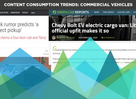 Content Consumption Trends: Commercial Vehicles