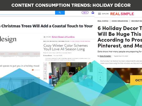 Content Consumption Trends: Holiday Décor