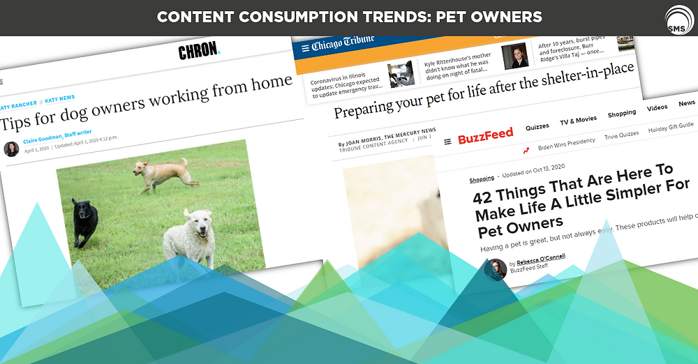 Content Consumption Trends Pet Owners Spectrum Media Services Cookieless Targeting Online Advertising
