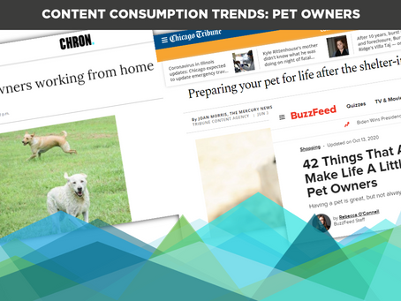 Content Consumption Trends: Pet Owners
