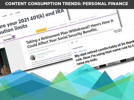 Content Consumption Trends: Personal Finance