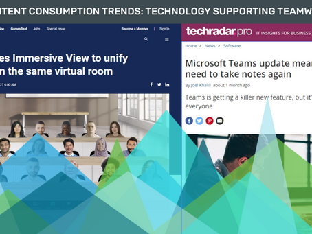 Content Consumption Trends: Technology Supporting Teamwork