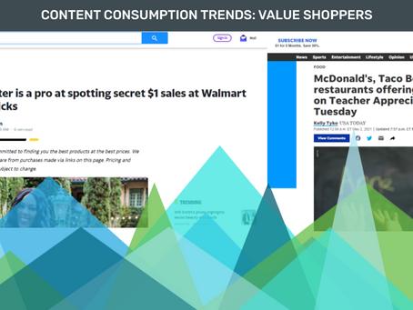 Content Consumption Trends: Value Shoppers