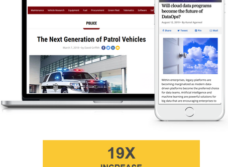 Case Study: Successfully Increased Page-Level Delivery To Reach B2B Fleet Buyers & Drive Results
