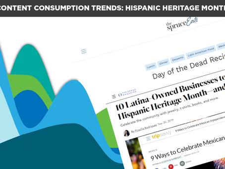 Content Consumption Trends: Hispanic Heritage Month