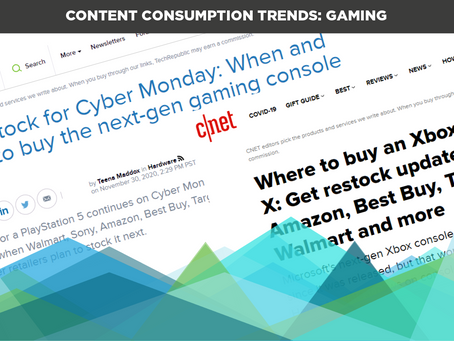 Content Consumption Trends: Gaming