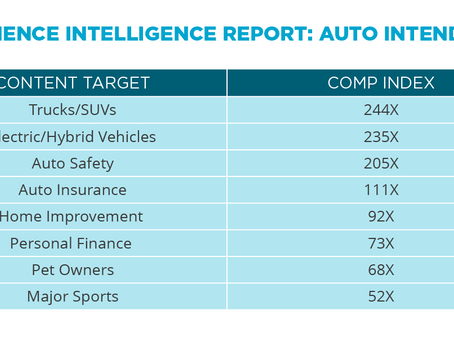 Audience Intelligence Report: Auto Intenders
