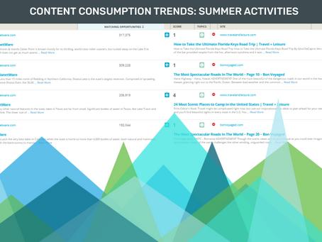 Content Consumption Trends: Summer Activities