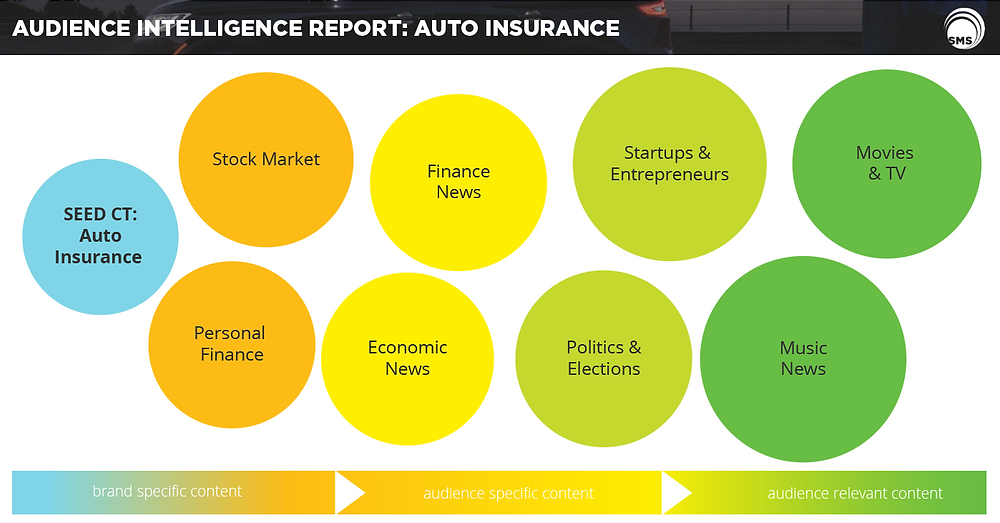 auto insurance audience intelligence report spectrum media services cookieless audience extension