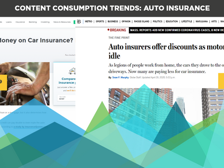 Content Consumption Trends: Auto Insurance