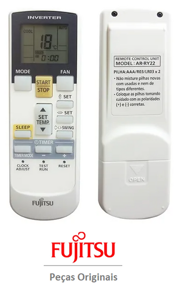 Controle Remoto Fujitsu AR-RY22