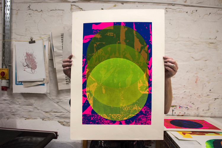 Green Circles has been chosen for this years Halftone Festival. Very excited about this!!