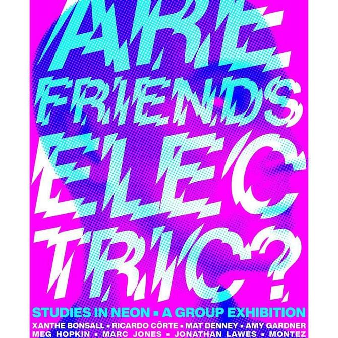Are Friends Electric? London, Espacio Gallery 2020