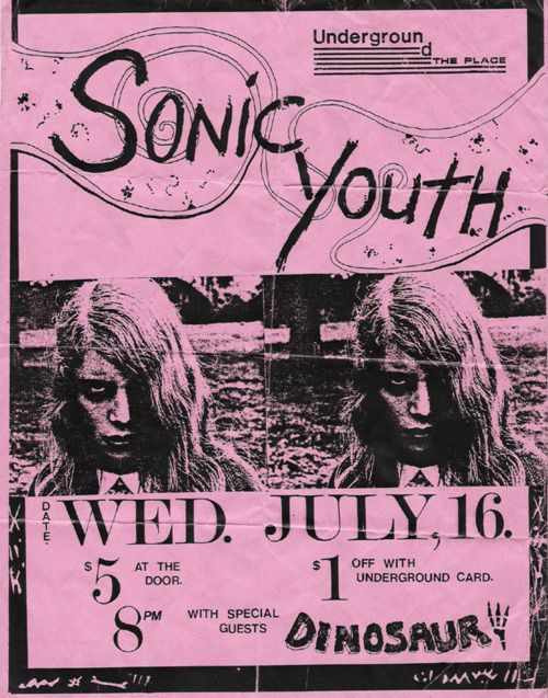 Love the photocopied zine look on this Poster :)