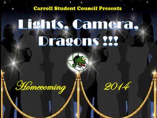 Dragon Band Leads Homecoming Parade