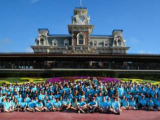 Dragon Band Visits Walt Disney World