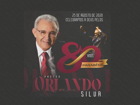 Parabéns Pr. Orlando Silva