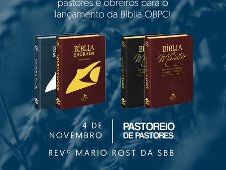Lançamento Oficial da Bíblia OBPC