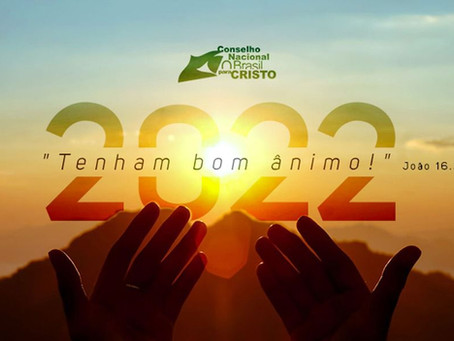 TENHAM BOM ÂNIMO- TEMA 2022