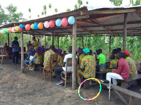 Missões Transculturais – Inauguração Igreja em Togo