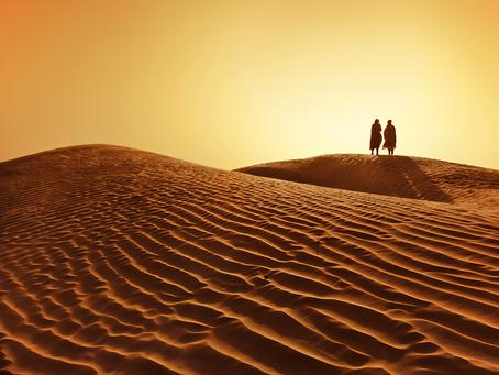 Aprendendo a passar pelo deserto!