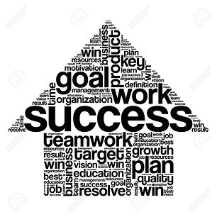 success-arrow-words-cloud-business-conce
