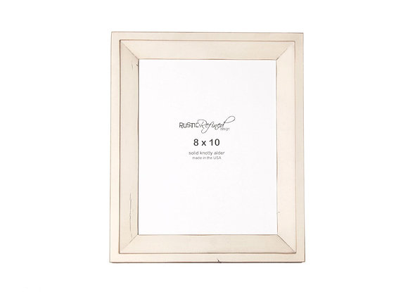 8x10 Haven picture frame - Off White