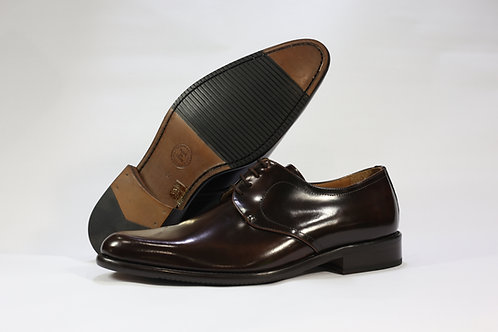 Calf Leather Simple Derby - C7291