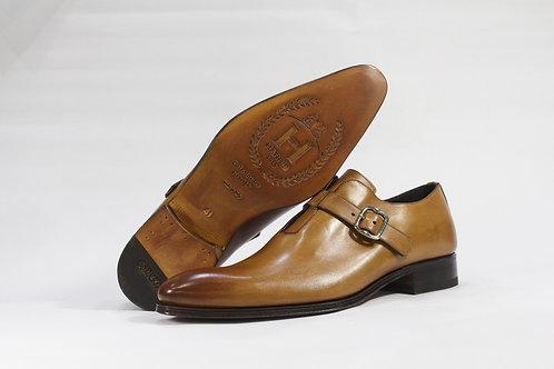 Calf Leather Single Monk Strap Shoe - H2095