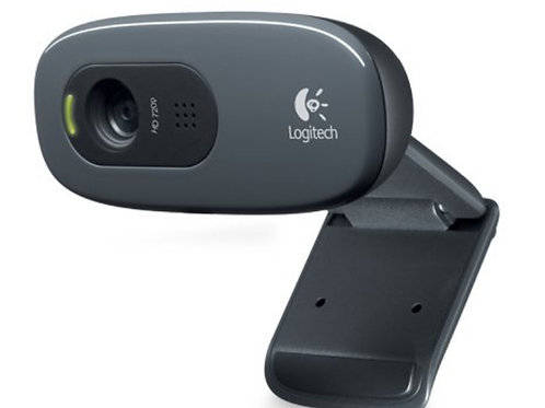 Logitech C270 Desktop or Laptop Telehealth Webcam