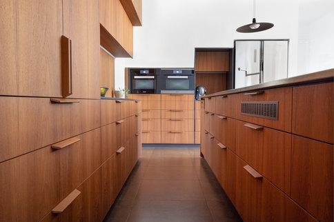 מטבח מודרני מעץ