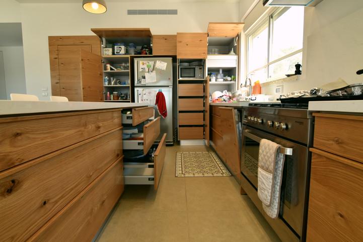 מטבח בבית במושב תעוז
