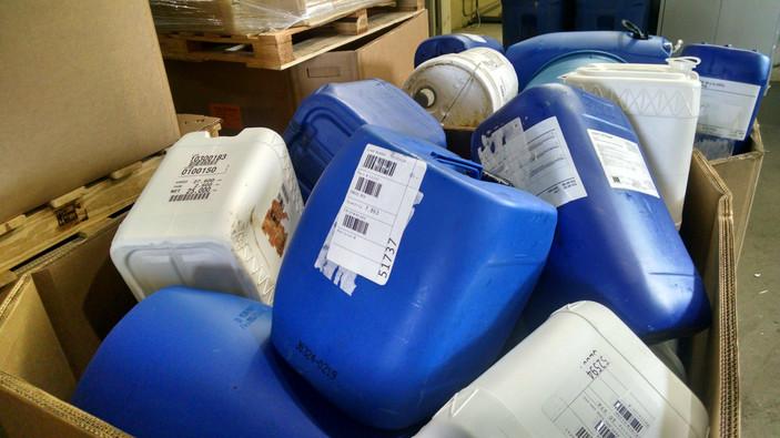 Anti Freeze bottles