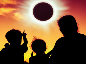 The Solar Eclipse, Sun-Eating Dragons and Service