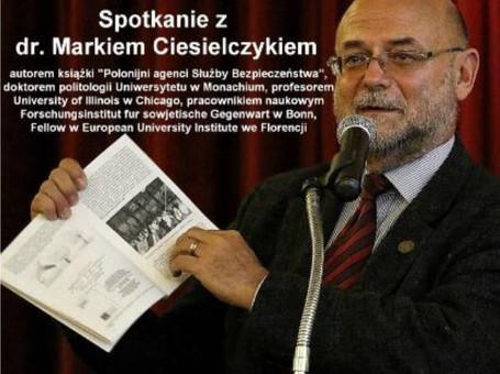 Serdecznie zapraszamy na spotkanie z prof. dr. Markiem Ciesielczykiem.
