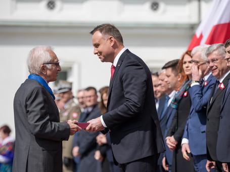 Jan Cytowski został uhonorowany Krzyżem Komandorskim Orderu Zasługi RP.