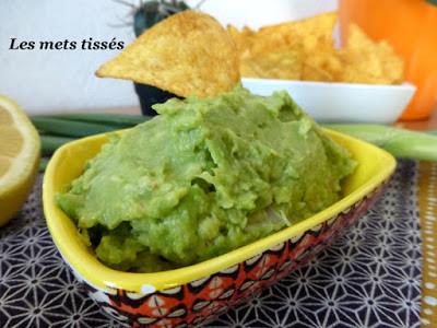 Recette de guacamole