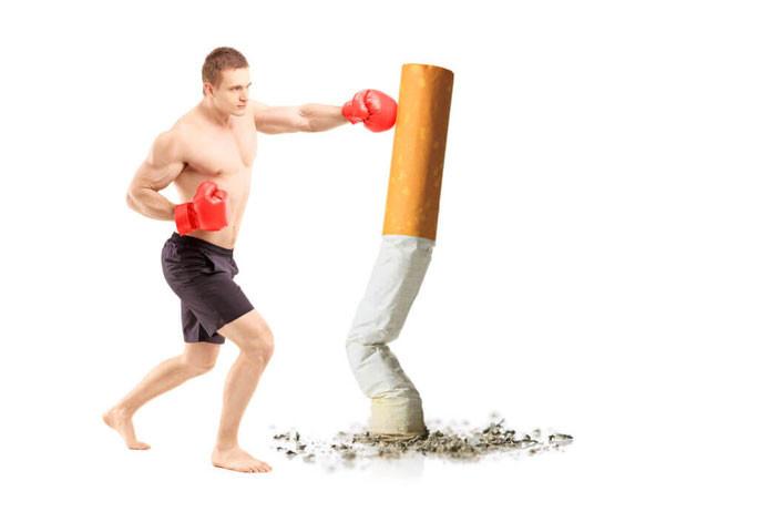 l'activité physique pour limiter l'impact du tabac