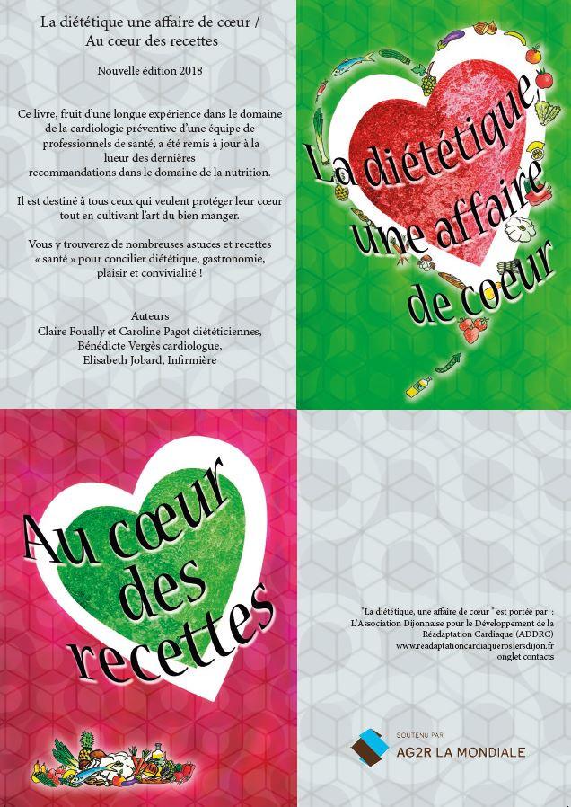 """Livre""""la diététique, une affaire de coeur"""""""