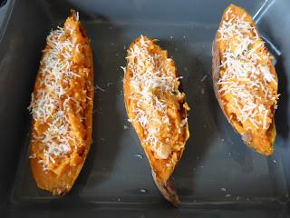 patates douces farcies par Les Mets Tissés