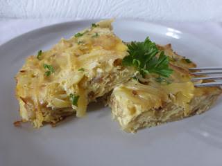 Recette de tortilla aux oignons