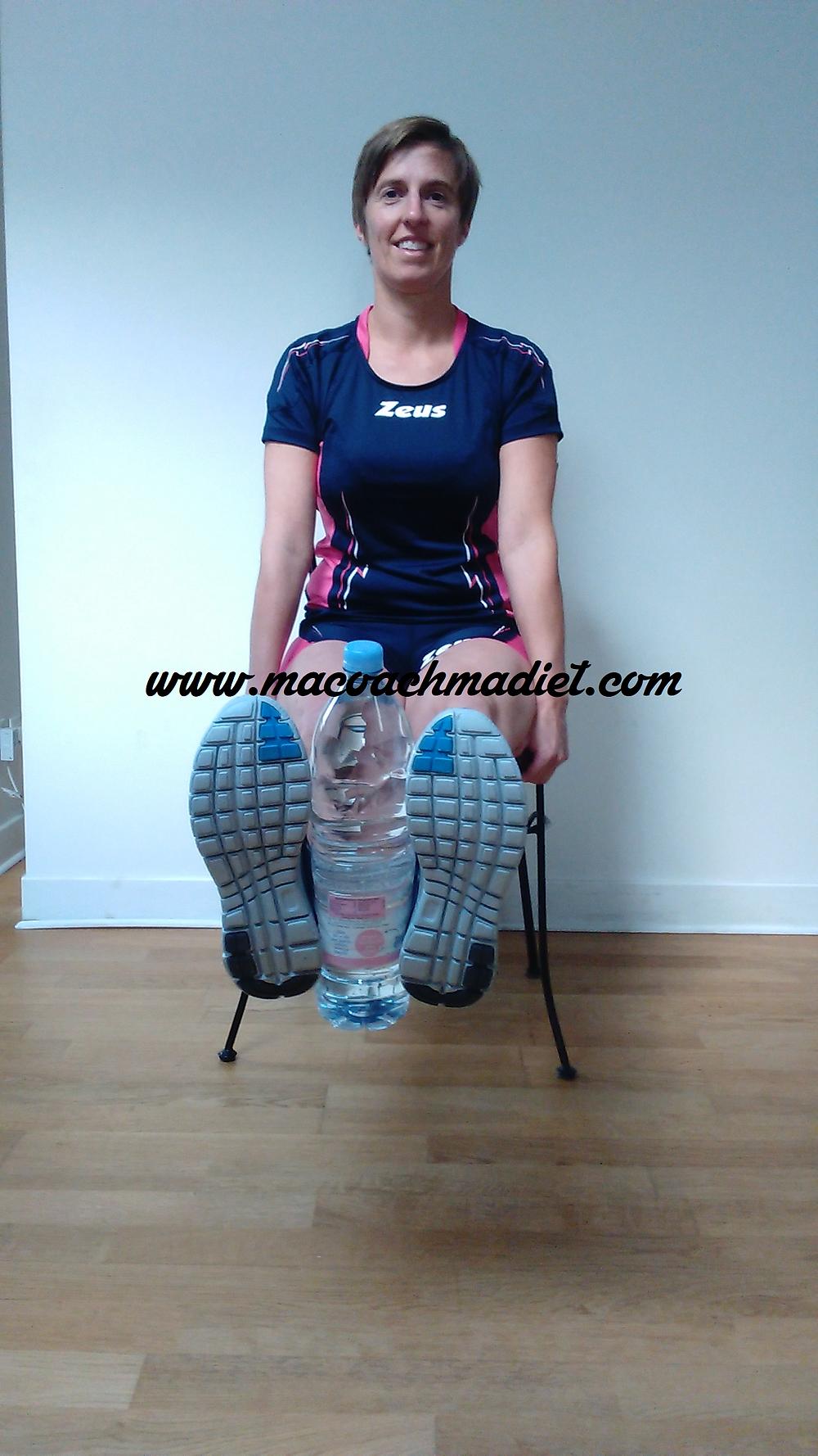 leg extension...sur une chaise