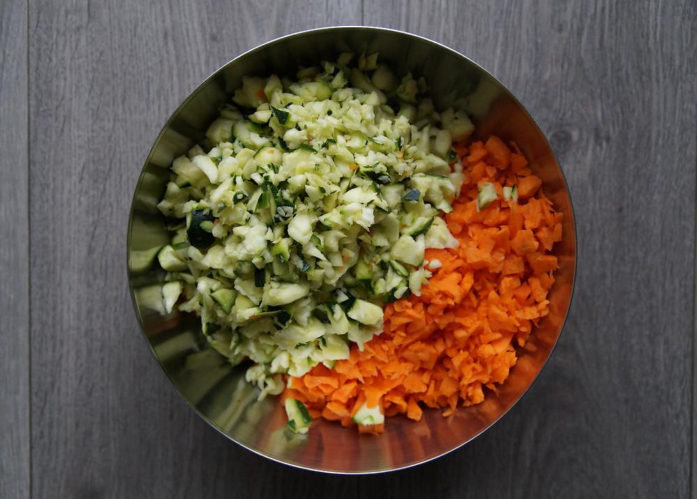 préparation des samoussas