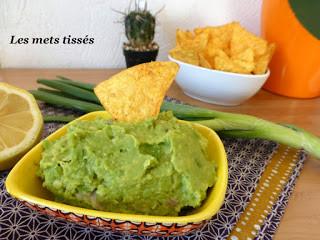 Délicieux guacamole par Les Mets Tissés