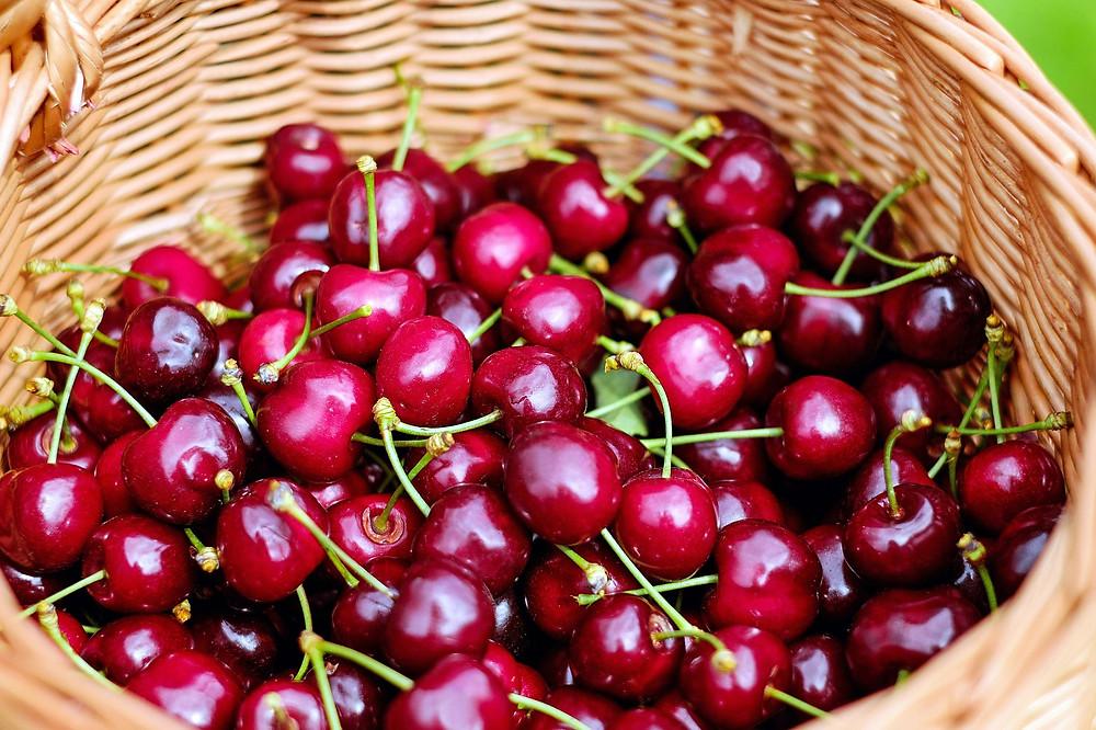 la cerise, fruit de printemps