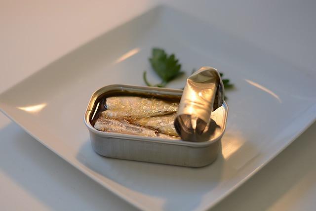 maquereau et sardine, poissons gras