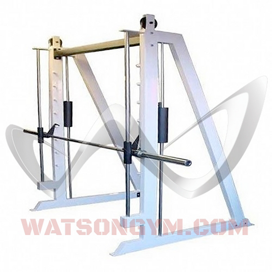 Counter-Balanced Plate Loaded Smith Machine with 4 x Weight Storage